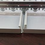 中国海油罩棚0.8 S扣300mm宽铝扣条天花【加油站专用吊顶】