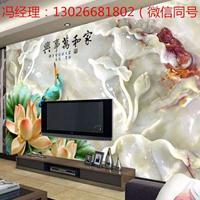 瓷砖背景墙生产设备新商机 uv彩印机厂家