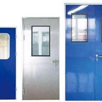 净化单开/双开洁净门 无尘室净化密闭门生产厂商