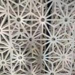 厂家直销雕花铝单板 喷粉镂空铝窗花铝隔断铝板材料