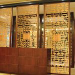 餐厅隔断用仿木纹铝花格 仿古铝合金花格/价格/厂家
