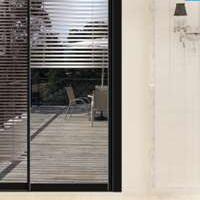 网红时尚黑色窄框|窄边框|隐框|推拉铝合金门窗