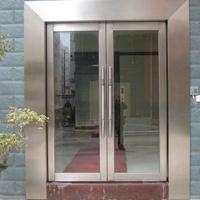 供应四川不锈钢防火玻璃门,优质型材,行业证书齐全
