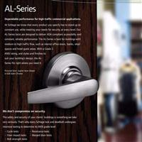 安朗杰SCHLAGE西勒奇AL50PD-JUP-626美标简式锁