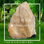 343号 黄蜡石石景观石门牌石文化石、联系电话:13750138210