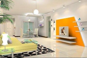 装修客厅颜色怎么搭配  客厅墙漆颜色效果图