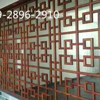 防火材料氟碳铝窗花-仿古铝花格厂家价格