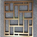 定制铝合金窗花格,仿古铝花格