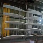 杭州弧形铝方通 木纹弧形铝方通厂家