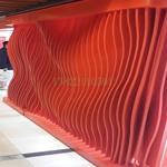 特制弧形铝方通加工定制厂家供应