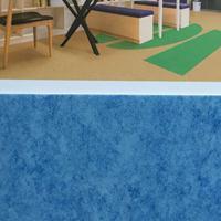 福州办公室地板施工学校室内外塑胶地板商场店面塑胶地板