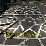 仿木纹铝花格/复古铝窗花/焊接仿木铝窗花定制厂家