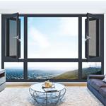 90断桥隔热窗纱一体平开窗 铝合金平开窗 节能保温 隔热隔音