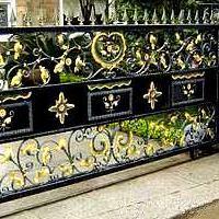 庭院门系列  钢质庭院门