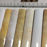 佛山工厂石材线招商支持定做质量保证瓷砖边角线仿石PVC石塑线