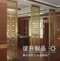 不锈钢酒店屏风_10年不锈钢屏风_生产工艺