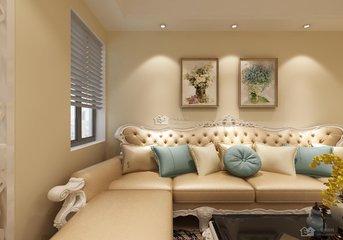 欧式客厅乳胶漆效果图原来这么美  是你喜欢的样子吗