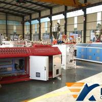 供应木塑建筑模板生产线_塑料模板生产线