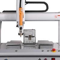 苏州拓航打印机配件双工位全自动拧螺丝机