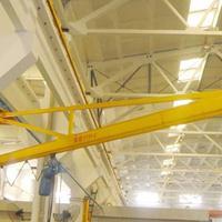 供应机械制造码头实验室物料吊运悬臂起重机