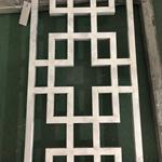木纹铝窗花/木纹铝合金花格/铝窗花厂家
