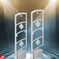 图书馆防盗仪磁条防盗安检仪超市防盗门EM RFID双标签系统
