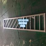 定制古建铝花格,仿木纹铝花格,铝合金防盗窗