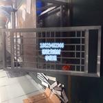 旅游区翻新外立面铝挂落 防盗窗铝花格