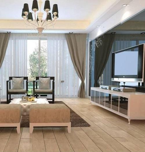 客厅铺复合地板很后悔 客厅到底该铺地砖还是地板