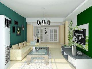 米色刷墙好不好看  米色客厅装修效果图