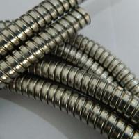 南昌双扣不锈钢金属软管 江西304双勾蛇形管外径12.5mm