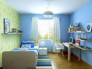 卧室适合什么颜色的漆  墙漆卧室颜色效果图一目了然