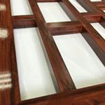 酒店氟碳漆木纹铝窗花/酒店装饰环保新时代/近原生木材效果