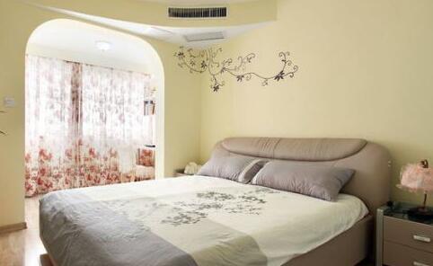 不一样的卧室风  主卧漆颜色效果图欣赏