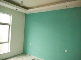乳胶漆刷墙装修  刷乳胶漆几天可以入住