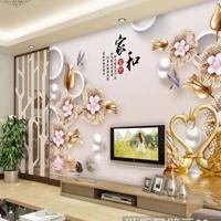 电视背景墙3D壁画厂家