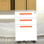 鑫鼎活动柜厂家,专注铁皮柜生产加工,三抽活动柜外贸供货
