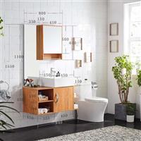 免漆浴室柜洗脸盆洗手盆柜组合卫生间洗漱台 自由搭配组合卫浴柜