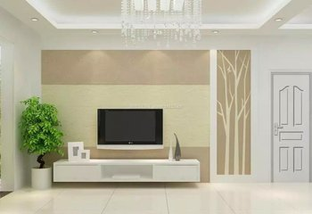 2017新型硅藻泥电视墙装修如何 适用大众装修吗