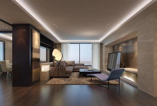 新客厅装修图片2017 客厅木地板装修效果图大全