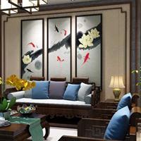 品革皮雕背景墙 3d立体背景墙 背景墙加盟