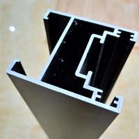 一线品牌德来客门窗供应黑色窄框|隐边框铝合金移门
