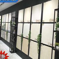 立式瓷砖展示架 冲孔板瓷砖展架 木地板展架陶瓷架子洞洞板展具