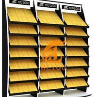 瓷砖展架450 集成吊顶铝扣板展示架橱柜门板石材玻璃样品展示架