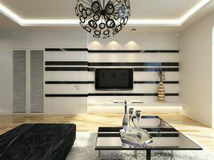 电视墙刷漆颜色哪个漂亮  电视墙颜色搭配效果图