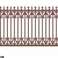 江苏南京上海铝艺大门别墅大门别墅栏杆铝合金栏杆