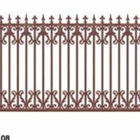 别墅铝艺护栏,庭院铝合金护栏,阳台护栏