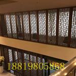 厂家直销仿木纹铝窗花定制/仿古冰裂纹铝窗花/仿古铝窗花定制
