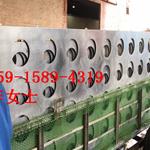 河北雄安新区广汽新能源4S店门头广告牌装饰材料冲孔铝单板