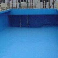 普洱 【金萊】高分子魚池專用防水漆*游泳池藍色環保漆